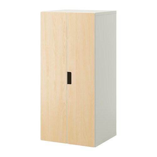 Stuva mueble de sal n con almacenaje blanco abedul ikea - Mueble de almacenaje ...