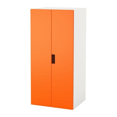Stuva mueble de sal n con almacenaje blanco naranja ikea - Ikea almacenaje salon ...