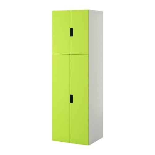 Stuva mueble de sal n con almacenaje blanco verde ikea - Muebles de almacenaje para ninos ...