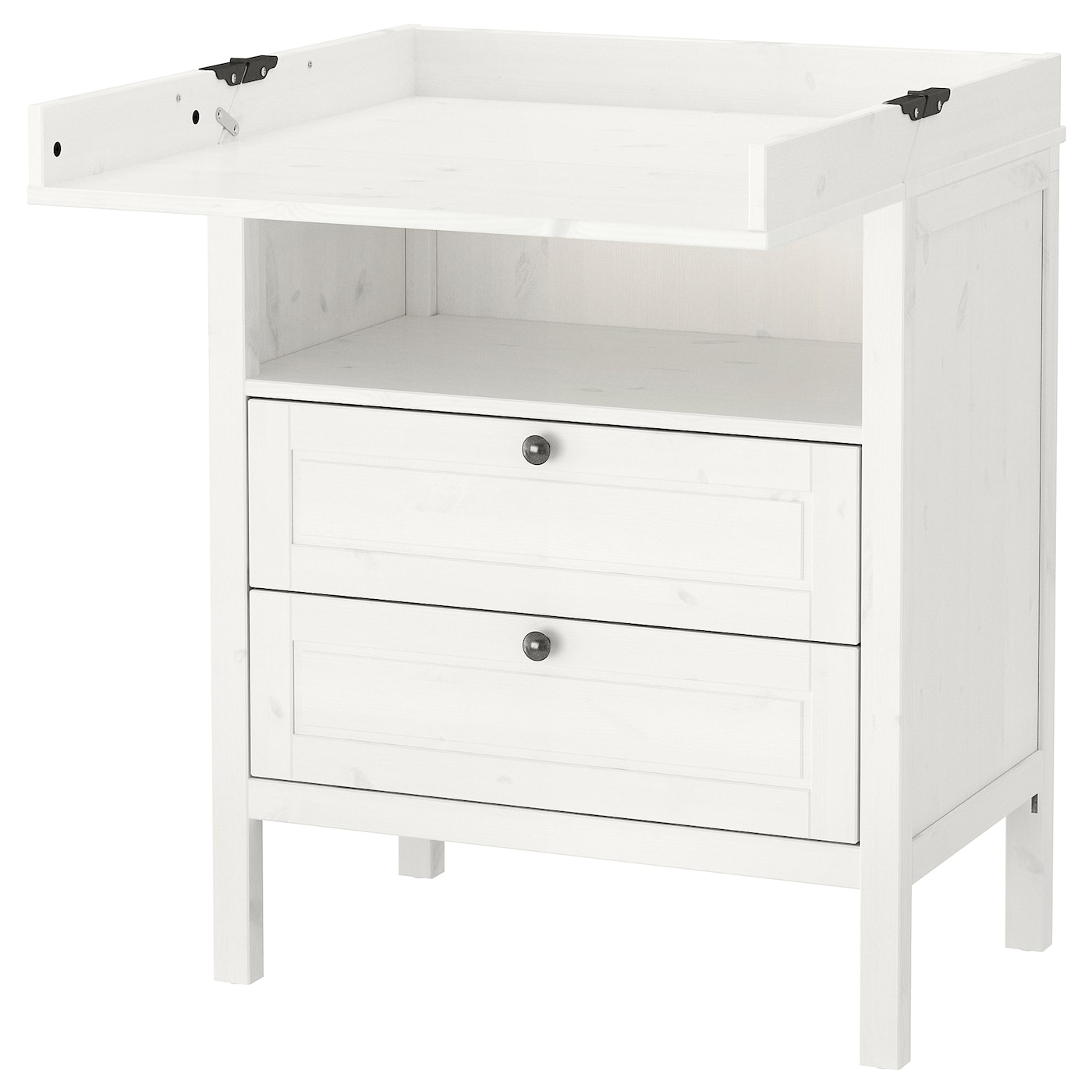 sundvik cambiador c moda blanco ikea. Black Bedroom Furniture Sets. Home Design Ideas