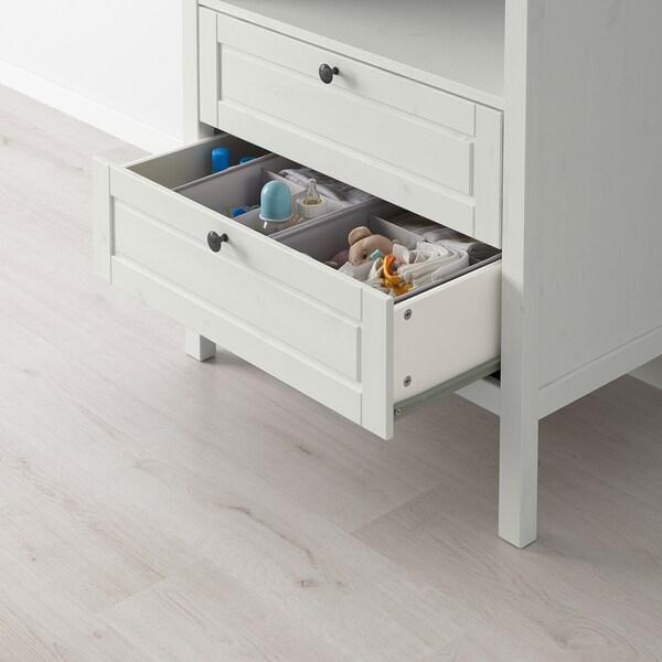SUNDVIK Cambiador/cómoda, blanco