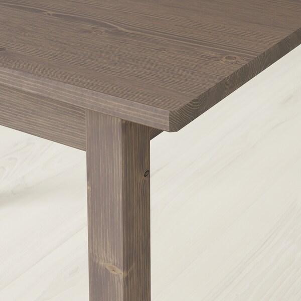 SUNDVIK Mesa para niños, gris/gris claro, 76x50 cm