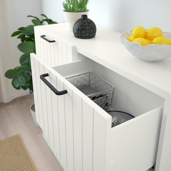 SUTTERVIKEN Puerta/frente de cajón, blanco, 60x38 cm