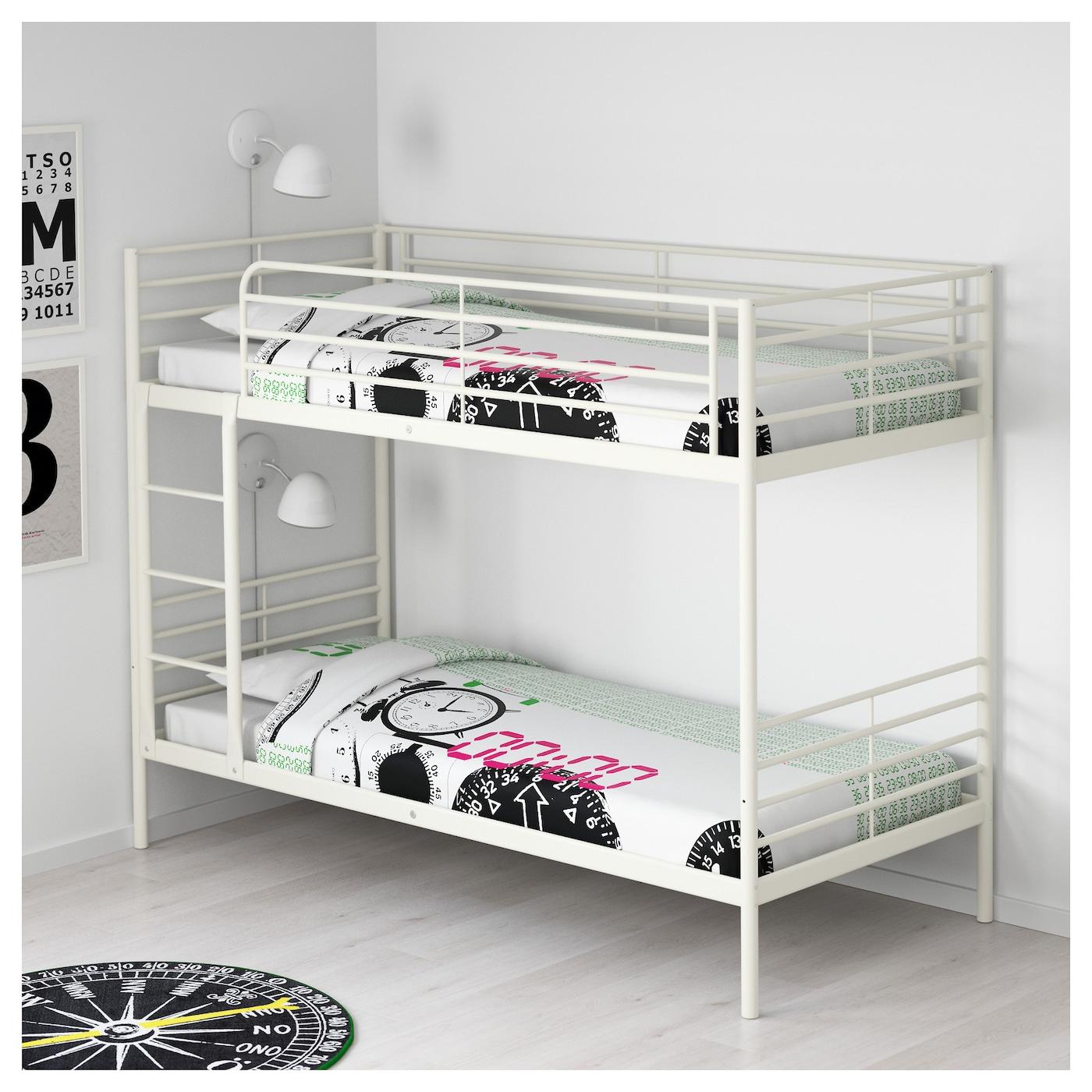 Svärta Estructura De Litera Blanco 90 X 200 Cm Ikea