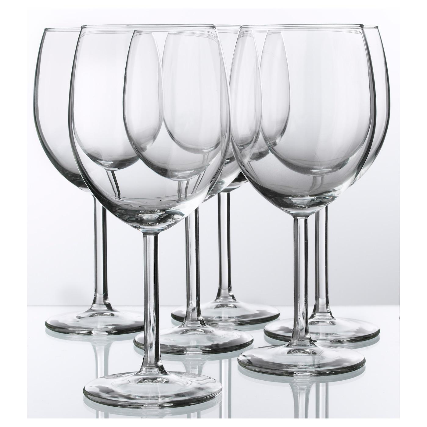 SVALKA Copa de vino vidrio incoloro 30 cl