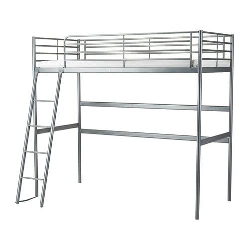 Sv rta estructura cama alta ikea - Cama alta ikea ...