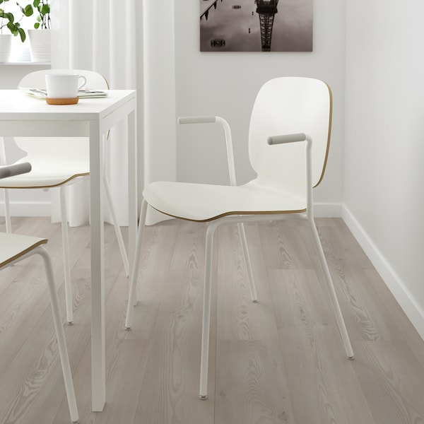 SVENBERTIL sillón blanco/Dietmar blanco 110 kg 53 cm 50 cm 84 cm 45 cm 42 cm 46 cm