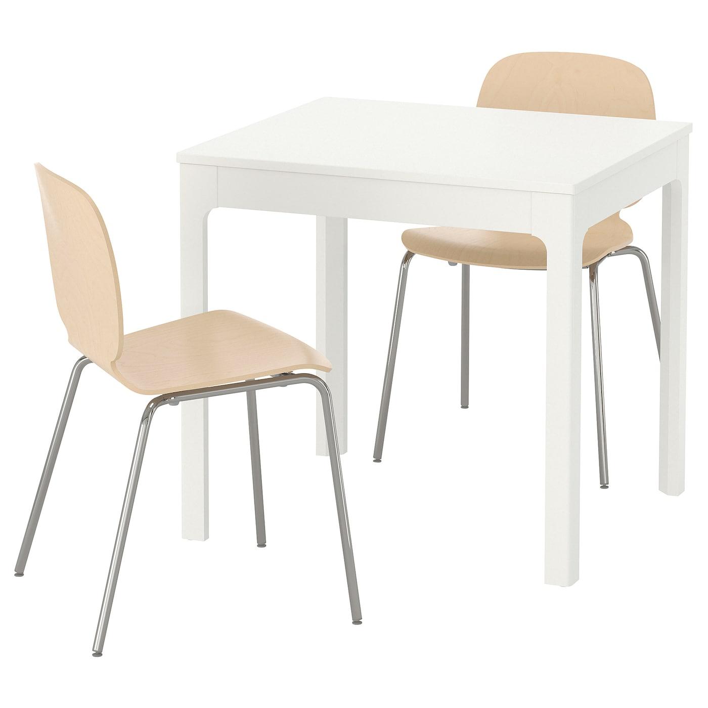 Conjuntos de comedor para 2 personas mesas y sillas compra online ikea - Silla ekedalen ikea ...