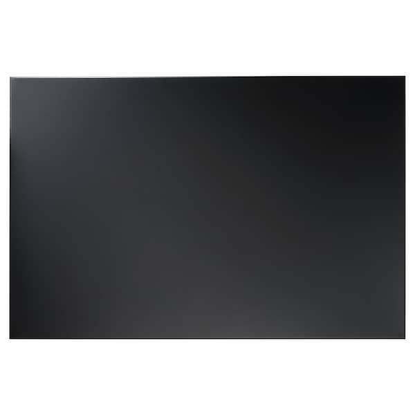 SVENSÅS Tablero de notas, negro, 40x60 cm