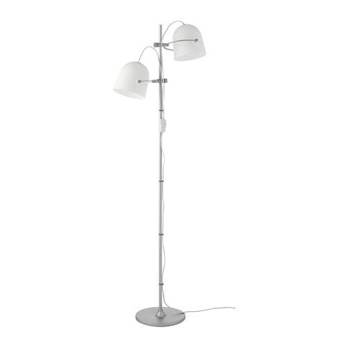 Lámpara de pie&2 pantallas