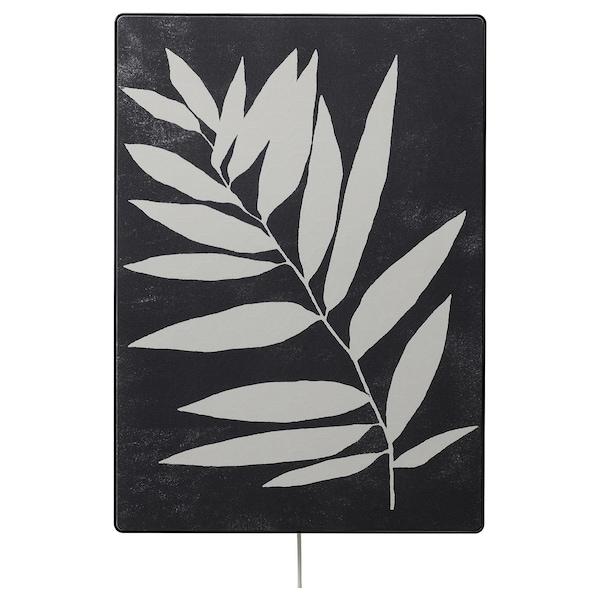 SYMFONISK Panel marco altavoz, silueta vegetal
