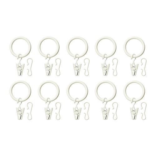 SYRLIG Anilla para cortina+clip/gancho Mu00e1s ofertas en IKEA Puedes ...