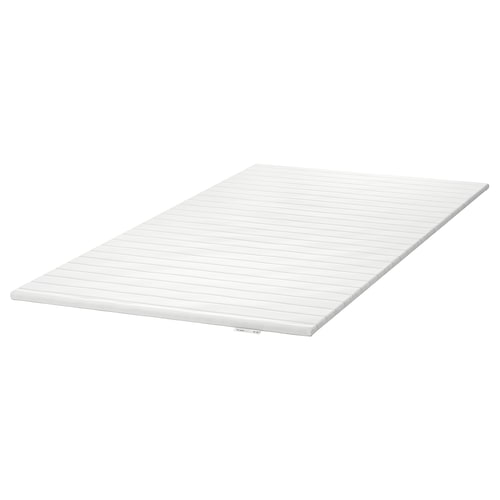 TALGJE colchoncillo / topper de confort blanco 190 cm 135 cm 3.5 cm
