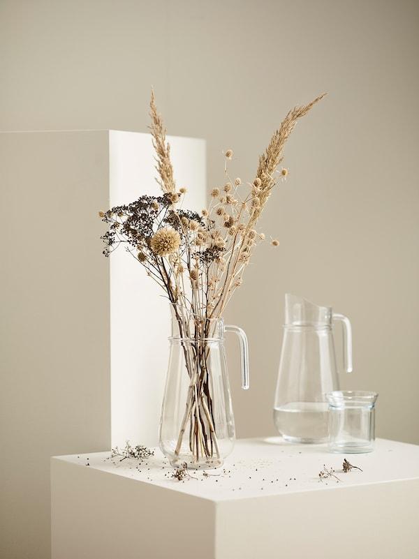 TILLBRINGARE Jarra, vidrio incoloro, 1.7 l
