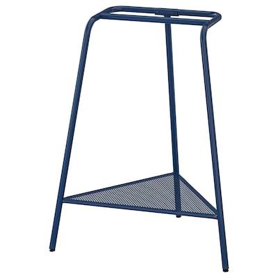 TILLSLAG Caballete, azul oscuro metal