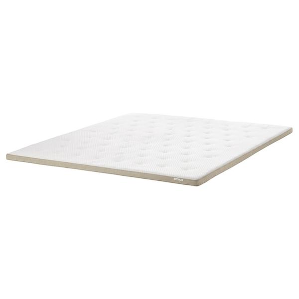 TISTEDAL Colchoncillo / topper de confort, natural, 160x200 cm
