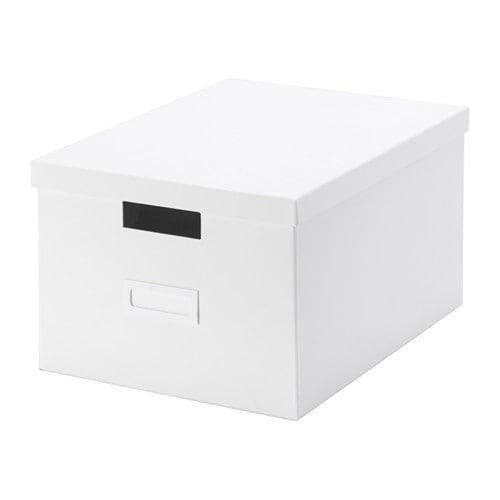 Tjena caja con tapa ikea - Cajas de ikea ...
