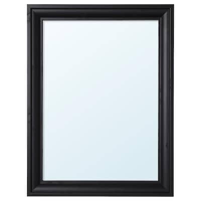 TOFTBYN Espejo, negro, 65x85 cm