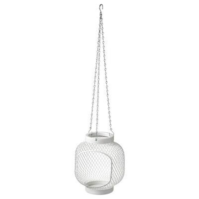 TOPPIG Farol vela gr, blanco, 22 cm