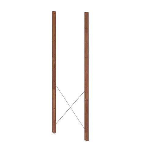 TORDH poste, ext tinte marrón 161 cm 1.5 cm 2 unidades