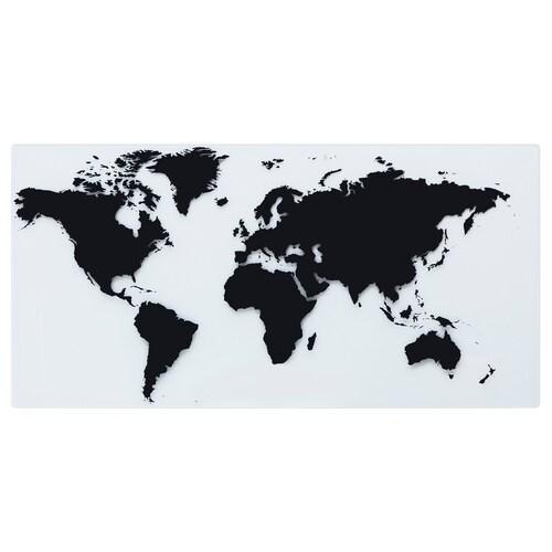 TORFINN tablero mapamundi 160 cm 81 cm
