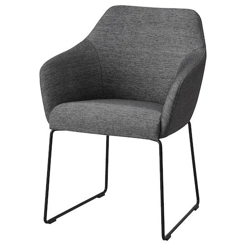 TOSSBERG silla metal negro/gris 100 kg 60.0 cm 56 cm 82 cm 42 cm 40 cm 49 cm