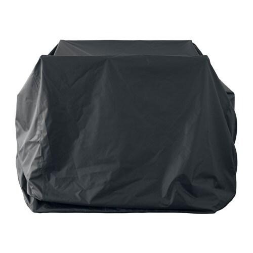 TOSTERÖ Funda juego muebles Negro 145 x 145 cm - IKEA