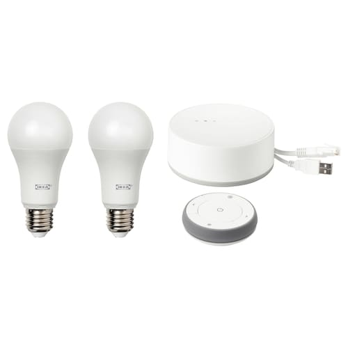 luces inteligentes ikea google home