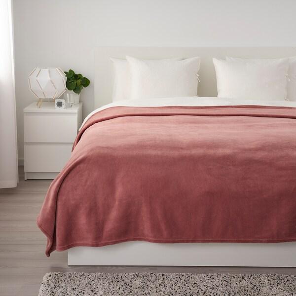 TRATTVIVA Colcha, rosa oscuro, 230x250 cm