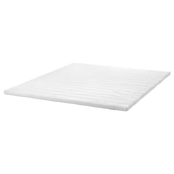 TUDDAL Colchoncillo / topper de confort, blanco, 160x200 cm