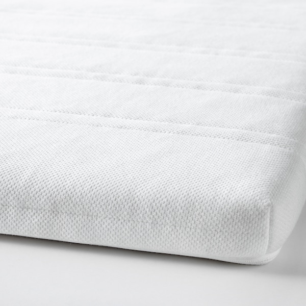 TUDDAL Colchoncillo / topper de confort, blanco, 90x200 cm