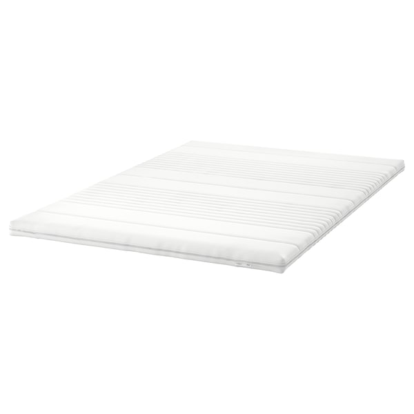 TUSSÖY Colchoncillo / topper de confort, blanco, 135x190 cm