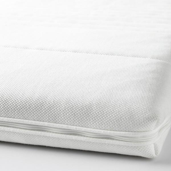 TUSSÖY Colchoncillo / topper de confort, blanco, 90x190 cm