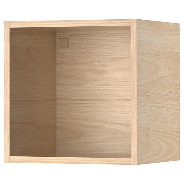 TUTEMO Armario abierto, fresno, 40x37x40 cm