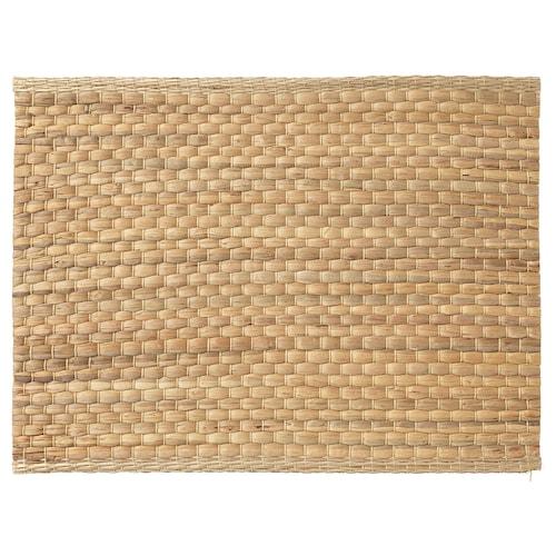 UNDERLAG mantel individual jacinto de agua/natural 35 cm 45 cm