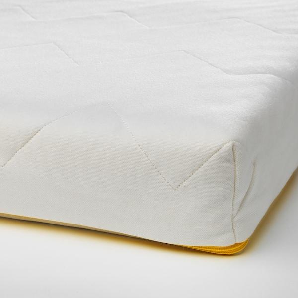 UNDERLIG Colchón espuma cama júnior, blanco, 70x160 cm