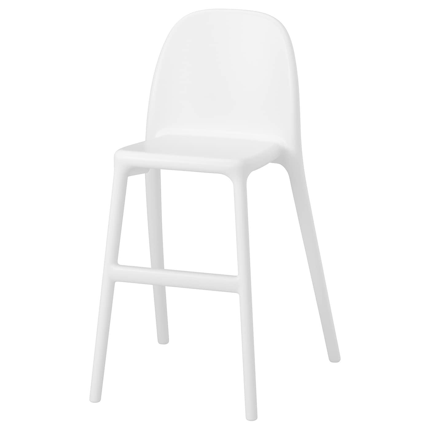 Urban Silla Alta Para Ninos Blanco Ikea