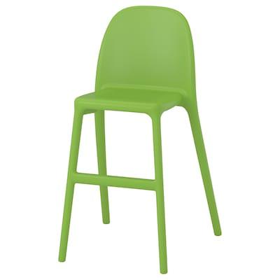 URBAN Silla alta para niños, verde