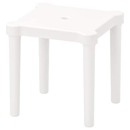 UTTER taburete niños int/ext/blanco 28 cm 28 cm 27 cm