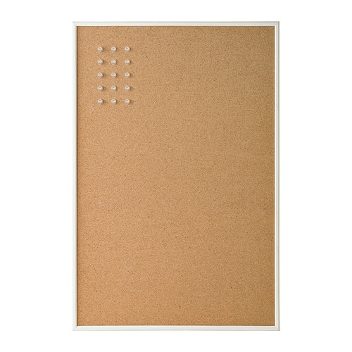 VÄGGIS Tablón de anuncios Blanco 58 x 39 cm - IKEA fd30d491303d