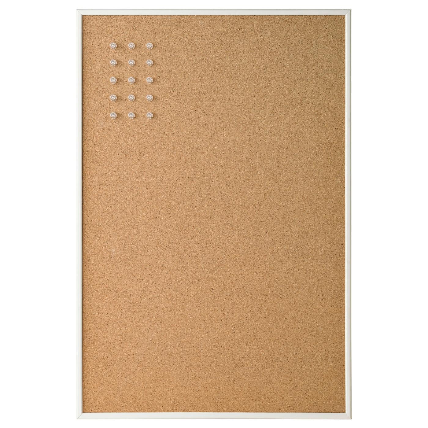 VÄGGIS Tablón de anuncios Blanco 58 x 39 cm - IKEA