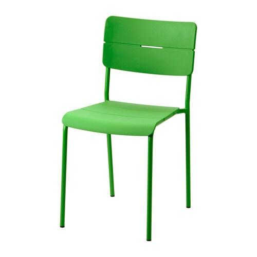 V dd silla ext verde ikea - Sillas de plastico ikea ...