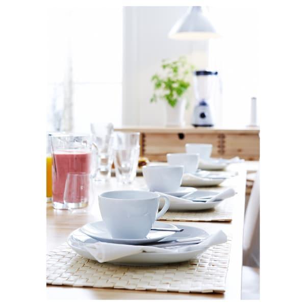 VÄRDERA taza de té con plato 18 cm 11 cm 8 cm 36 cl
