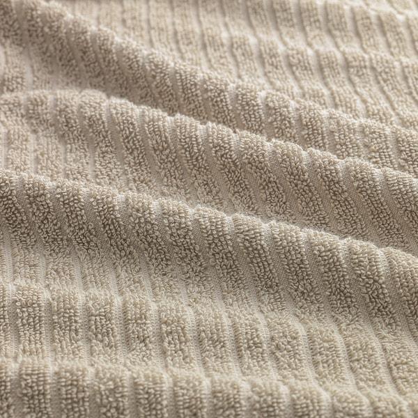 VÅGSJÖN Toalla de mano, beige claro, 50x100 cm