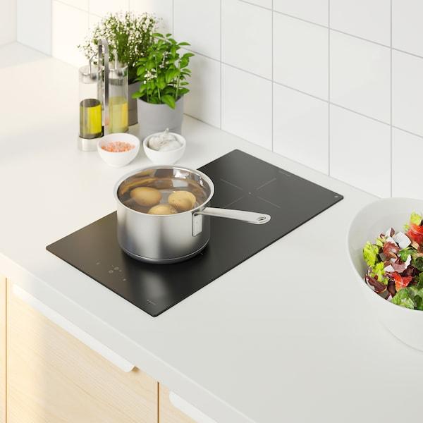 VÄLBILDAD Placa de inducción, IKEA 300 negro, 29 cm