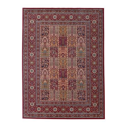 valby ruta alfombra, pelo corto multicolor 170 x 230 cm - ikea