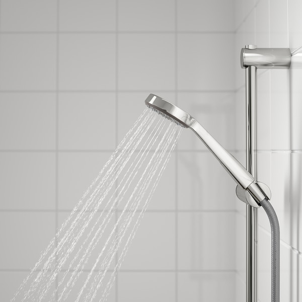 VALLAMOSSE Barra regulable pared+jugo ducha, cromado IKEA