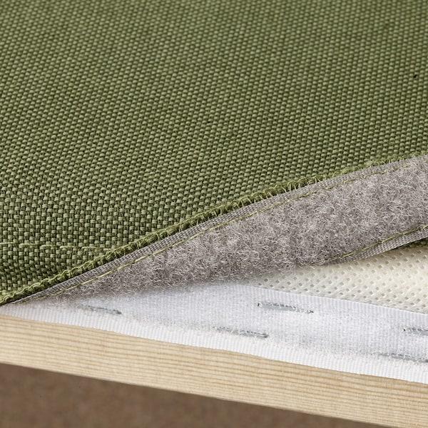 VALLENTUNA sofá modular 3 plazas +extremo abierto y almacenaje/Orrsta verde oliva 273 cm 93 cm 84 cm 45 cm