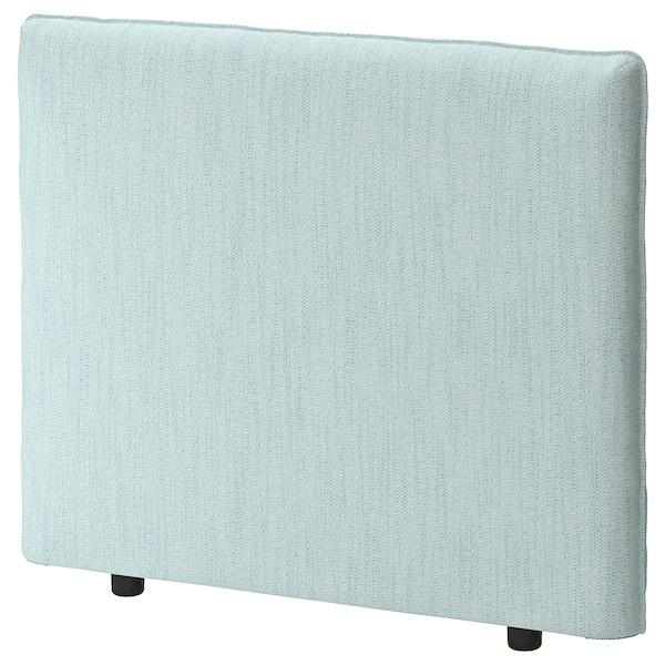 VALLENTUNA Respaldo, Hillared azul claro, 100x80 cm