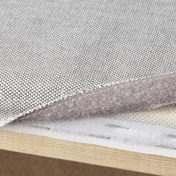 VALLENTUNA módulo asiento Orrsta gris claro 100 cm 80 cm 45 cm